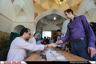 انتخابات ریاست جمهوری و شورای شهر/ قم /گزارش تصویری7