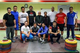 اردوی تیم ملی وزنه برداری