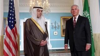 وزیران خارجه آمریکا و عربستان