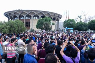 شادی مردم پس از انتخابات ۲۹ اردیبهشت