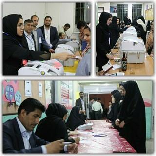 ۷۵ درصدی مردم شهرستان تربت جام در انتخابات حضور یافتند