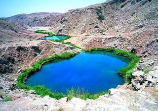 دریاچه دوقلوی آبدانان