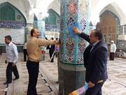 ۱۲۰ مسجد شهرستان بروجرد غبارروبی شد
