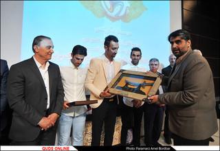مراسم تقدیر از بهترین مهاجم تاریخ فوتبال لیگ برتر