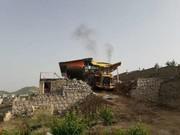 هفت مورد ساخت و ساز غیر مجاز در اراضی کشاورزی شهرستان قزوین تخریب شد