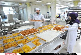 پخت زولبیا و بامیه در ماه رمضان
