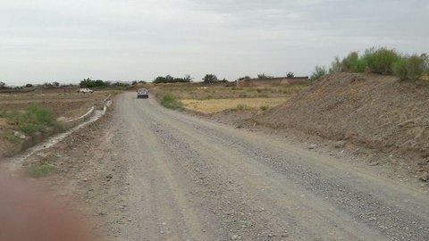 جاده های مزارع