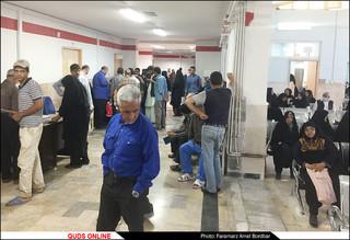 مستند نگاری از وضعیت دو بیمارستان امام رضاو قائم مشهد