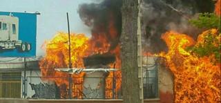 انفجار در کارگاه گاز مایع