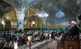 حجت الاسلام رحیمیان تولیت مسجد جمکران