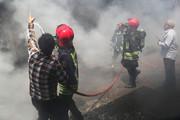 دست آتشنشانان یاسوج از آتش کوتاه است