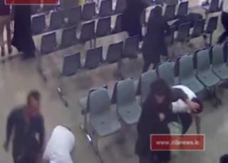 فیلم دوربینهای مداربسته از ورود تروریستها به مجلس منتشر شد
