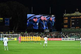 دیدار تیم های ملی فوتبال استرالیا و عربستان