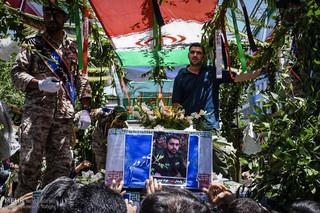 تشییع شهدای حادثه تهران