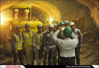 پروژه خط 3 قطارشهری مشهد/عکس خبری