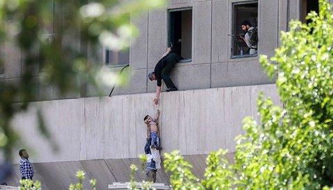 عماد پسر بچه معروف حادثه تروریستی مجلس