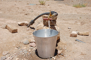 کمبود آب شرب در شهر ششتمد