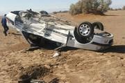 واژگونی خودرو سواری در طبس ۵ کشته و زخمی برجای گذاشت