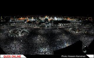مراسم احیای شب نوزدهم ماه مبارک رمضان در حرم مطهر حضرت رضا (ع)/ گزارش تصویری
