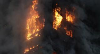 حريق برج لندن