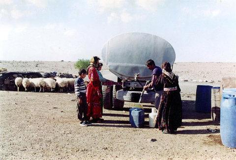 توزیع آب