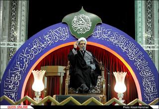 مراسم احیاء شب بیست و سوم ماه رمضان در حرم مطهر رضوی برگزار شد