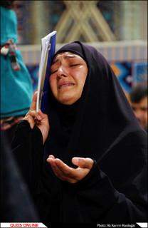 مراسم احیاء شب بیست و سوم ماه رمضان در حرم مطهر رضوی برگزار شد/گزارش تصویری2