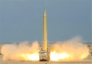 حمله موشکی نیروی هوافضای سپاه