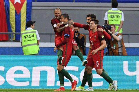 دیدار تیم های ملی فوتبال پرتغال و مکزیک