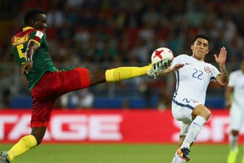 دیدار تیم های ملی فوتبال شیلی و کامرون