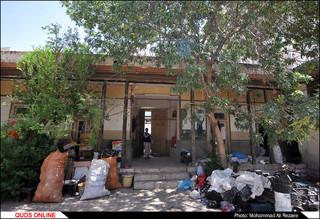 بنای قدیمی عسکریه در مشهد