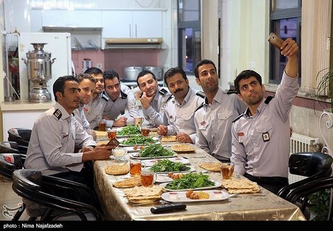 ماه رمضان در ایستگاه های آتش نشانی