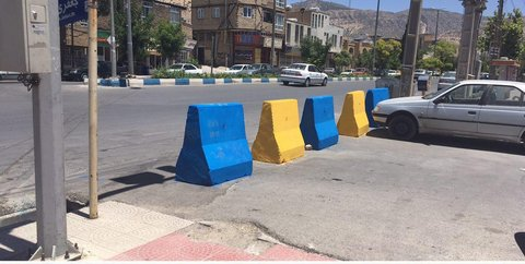 انسداد خیابان 14 متری در ایلام