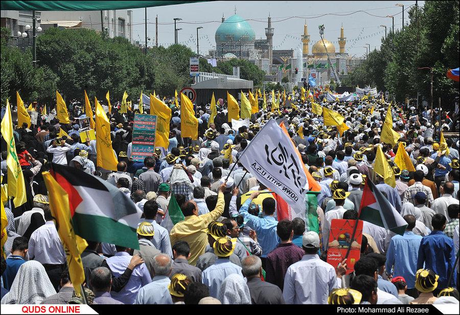 راهپیمایی روز جهانی قدس در مشهد/گزارش تصویری2