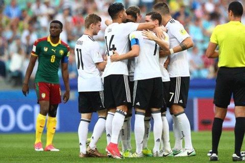 پیروزی مقتدرانه آلمان مقابل کامرون/ شاگردان لوو صدرنشین شدند