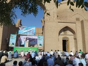 نماز عید سعید فطر با حضور پرشکوه مردم خداجوی  رشتخوار برگزار شد