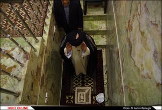 مراسم با شکوه نماز عید فطر در حرم مطهر رضوی