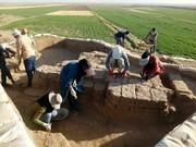 بقایای معماری عصر آهن در نیشابور کشف شد
