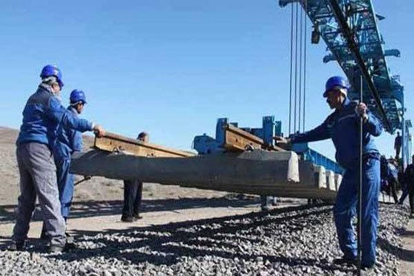 ریل گذاری راه آهن