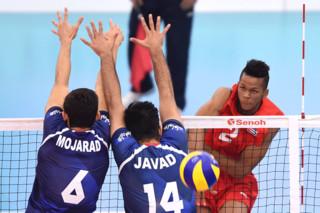 دیدار تیم های والیبال جوانان کوبا و ایران