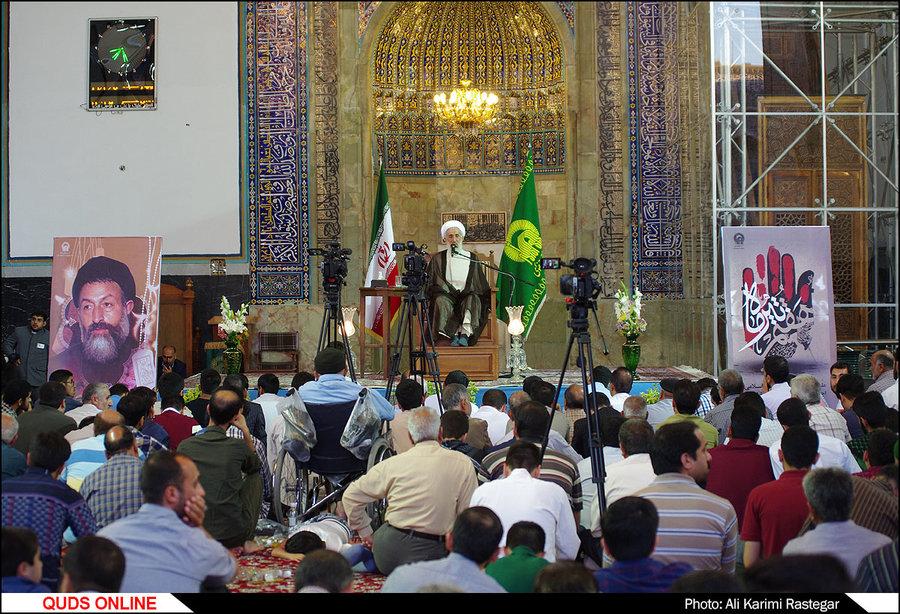 مراسم سی و ششمین سالگرد شهدای هفتم تیر در حرم مطهررضوی /گزارش تصویری