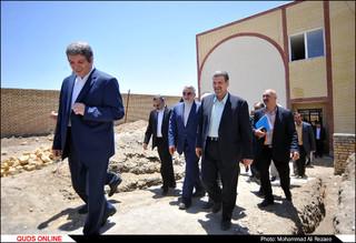 بازدید رئیس و اعضای کمیسیون امنیت ملی مجلس از حاشیه شهر مشهد