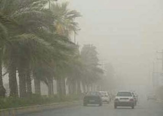 باد گردو خاک در سیستان