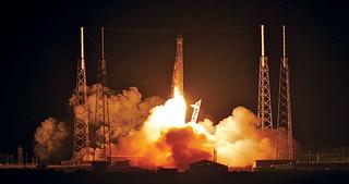 انفجار راکت ماهواره بر چین