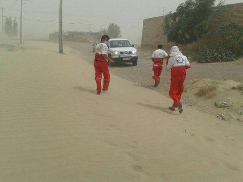امدادرسانی در طوفان