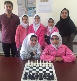 تیم شطرنج دانش آموزی مازندران