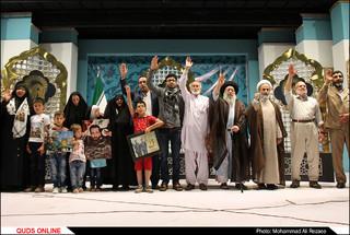 گردهمایی فعالان مردمی اربعین در حرم رضوی