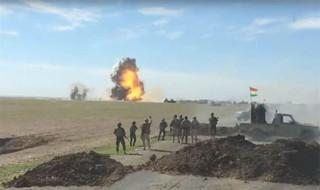 انفجار خودرو داعش