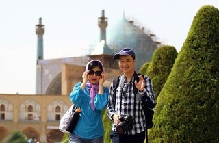گردشگران خارجی اصفهان