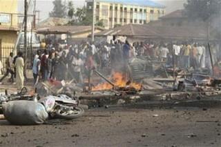 انفجار نیجریه